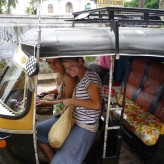 Experience the popular Indian transport – Autorickshaw!